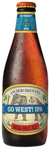America beer アメリカ ビール アンカー アンカーゴーウエスト!IPA  瓶 355ml/24本hn  お届けまで8日ほどかかります  B07D1Y3WSK