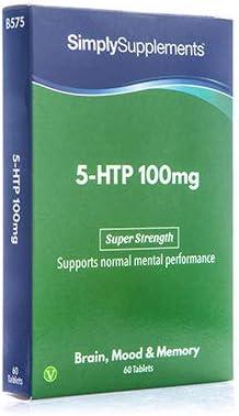 5-HTP Triptófano 100 mg - ¡Bote para 2 meses! - Apto para veganos ...