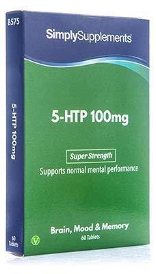 5-HTP Triptófano 100 mg - 60 comprimidos - Aminoácido esencial para el estado de