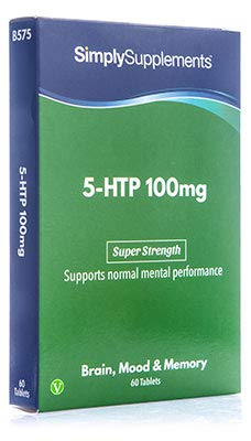 5-HTP Triptófano 100 mg - ¡Bote para 2 meses! – Apto para