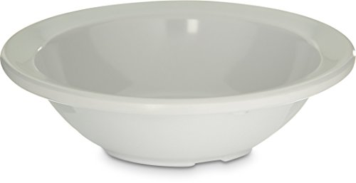 (Carlisle KL80502 Kingline Melamine Rimmed Fruit Bowl, 4 oz. Capacity, 4.6 x 1.29