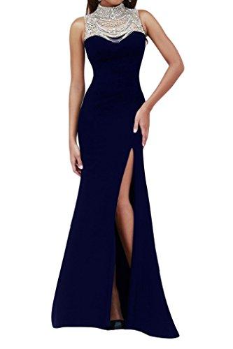 TOSKANA BRAUT - Vestido - Estuche - para mujer azul marino