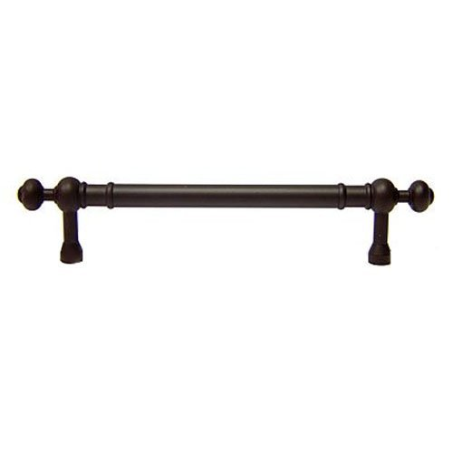 International Bronze Rk Pulls (R.K. International CP 817 RB Rki - 8 inch C/Oil Rubbed Bronze Plain Pull with Decorative Ends 8 inch Center To Center Plain Pull with Decorative Ends)