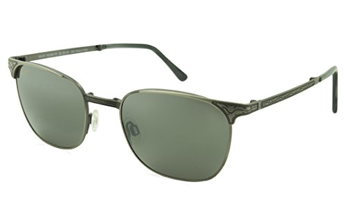 Maui Jim Stillwater 706-17C | Polarized Antique Pewter Classic Frame Sunglasses, with with Patented PolarizedPlus2 Lens Technology