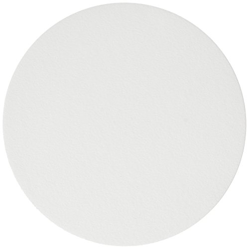 Whatman Grade 43 Cellulose Ashless Quantitative Filter Paper, Circle, 110mm Diameter, 16µm Pore Size, 155s Filtration Speed, 0.007% Ash, 220µm Thickness (Pack of 100) 43 Quantitative Filter Paper