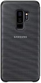 low priced 13a34 7d54e samsung Galaxy S9 Plus LeD Flip Wallet Cover, Black: Amazon.com: CITEL