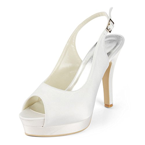 Minitoo Scarpe 13cm Tacco Donna Col Heel Ivory rr0vwdq