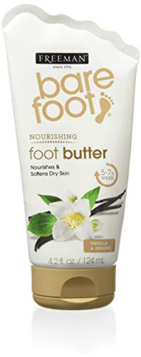 (Freeman Bare Foot Butter Cream, Vanilla + Jasmine 4.20 oz)