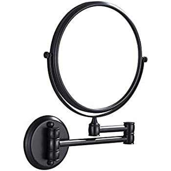 Amazon Com Gurun Two Sided Swivel Wall Mounted Makeup