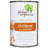 Global Organics Organic No Added Salt Chick Peas, x