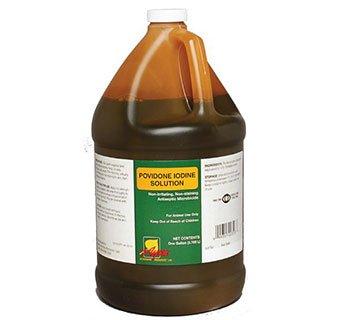 Aspen Vet POVIDONE Iodine Solution 10% by Aspen Vet