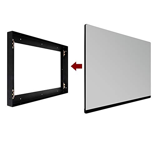 Soulaca 18.5 inches in Wall Mounted Magic Mirror Android Smart LED Hidden TV with Bluetooth DTV