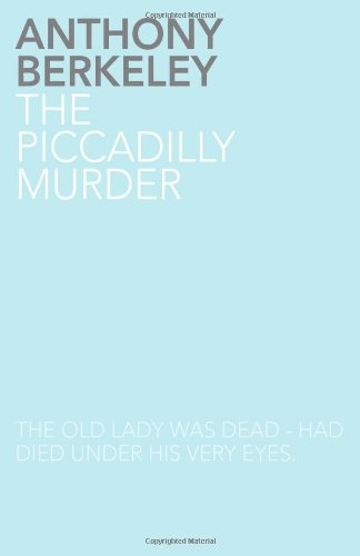 The Piccadilly Murder pdf