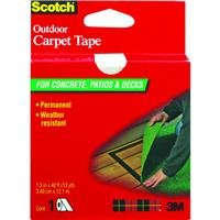 3M (CT3010DC) Scotch Outdoor Carpet Tape CT3010, 1.375 in x 13.3 yd