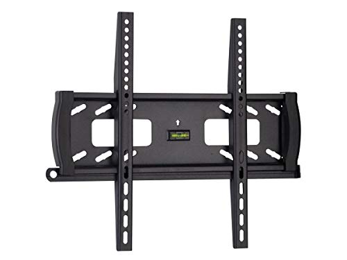 (Monoprice Fixed TV Wall Mount Bracket - for TVs 32in to 55in Max Weight 99lbs VESA Patterns Up to 400x400 Security Brackets UL Certified)