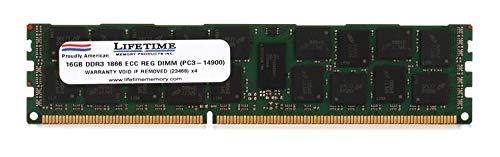 Top Tier PC3-14900 ECC DIMM - 16GB DDR3 1866MHz Registered ECC DIMM for Mac - Generic Registered Ecc