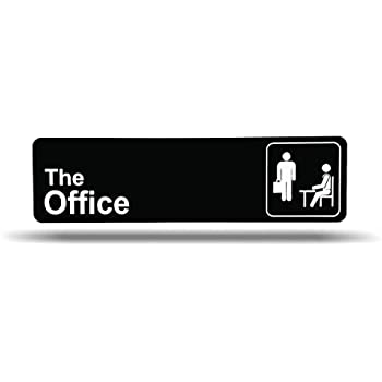 Amazon.com: Cartel para la oficina, placa de nombre, placa ...