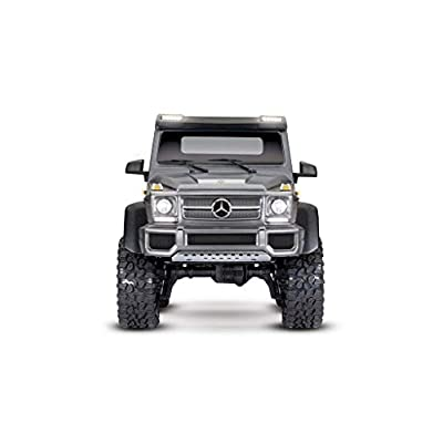 Traxxas 88096-4-SLVR TRX-4 Crawler w/Mercedes Benz G 63 AMG Body:1/10 6X6 RTR: Automotive