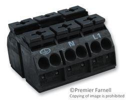 (WAGO 862-1503 TERMINAL BLOCK PLUGGABLE, 3POS, 20-12AWG (10 pieces))