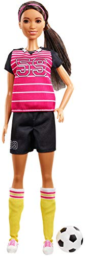 Barbie Careers 60th Anniversary Soccer Player Doll (Best Professional Soccer Players)