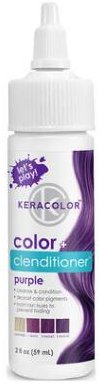 Keracolor Color + Clenditioner PURPLE 2oz TRAVEL SIZE