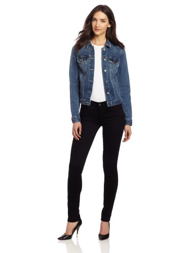 Two by Vince Camuto Women's Jean Jacket, Authentic, X-Large