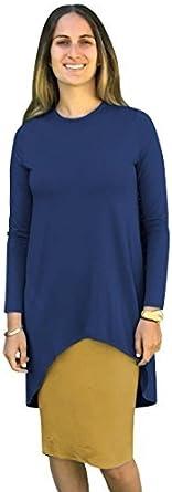 فستان نسائي متوسط الطول ذو طبقات من Baby'O من قلم الرصاص Hi-Lo بطانة، ملكي/مستردة، مقاس XL