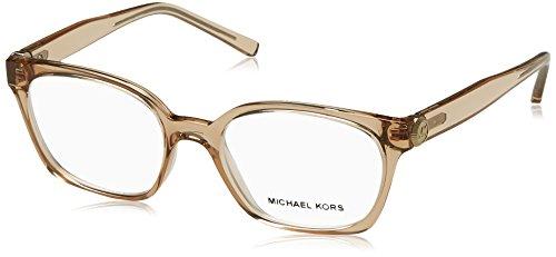 MICHAEL KORS Eyeglasses MK4049 3300 Brown - Clear Kors Michael Frame Glasses
