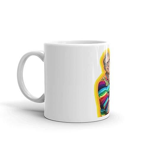 Jeff Goldblum of Happiness Mug 11 Oz White Ceramic