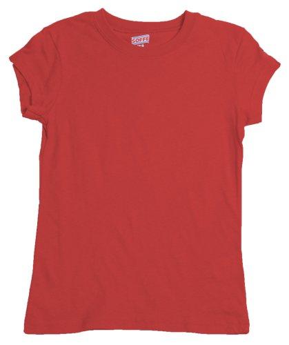 Soffe Big Girls' Tissue T-Shirt