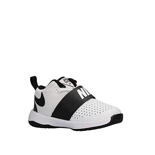 8 D Blanc Gymnastique TD Chaussures Nike Garçon Hustle Team de qwPxZtE