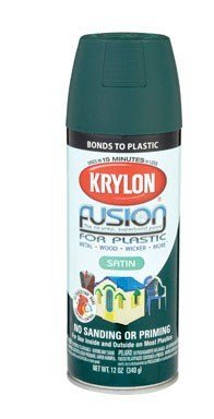 12 Oz Satin Hunter Green Fusion for Plastic Spray Paint