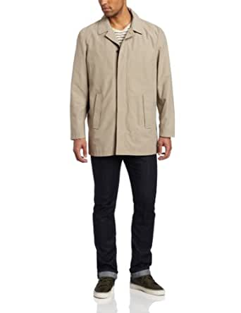 Calvin Klein Men's Single Breasted Walker, Tan, Small