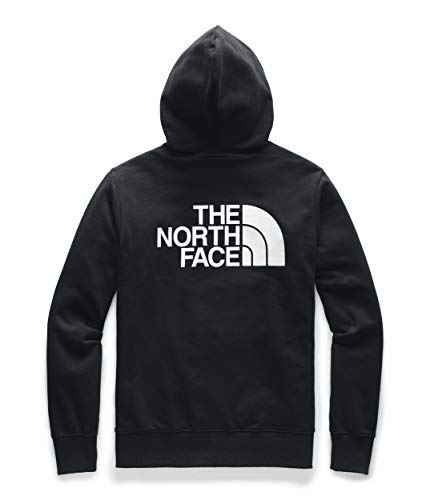 The North Face Men's Half Dome Full Zip Hoodie, TNF Black/TNF White, L