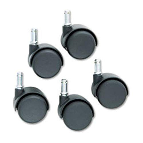 OKSLO standard neck safety casters - pack of 5 model d1830