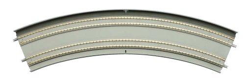 TOMIX Nゲージ 複線スラブカーブレール DC465 428-45-SL F 2本セット 1168 鉄道模型用品の商品画像