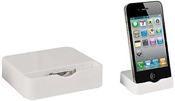 iPhone 4/4G Docking Station Ladestation Weiss