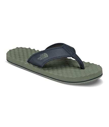 - The North Face Men's Base Camp Flip-Flops - Four Leaf Clover & Urban Navy -8
