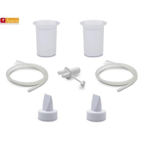Ameda Purely Yours Ultra Breast Pump HygieniKit Spare Parts Kit - Ameda Purely Yours Breast Pump Parts