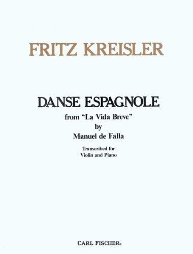 Falla: Spanish Dance from La Vida Breve (arr. Kreisler) (Danse Espagnole)