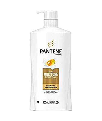 Pantene Pro-V Daily Moisture Renewal 2-in-1 Shampoo & Conditioner, 24 Hours Hydration - 375 ml / 12.6 Fl.Oz Ea. - 2 Count