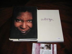Whoopie Goldberg Actress Ghost JSA Signed Book Authentic Signed Autograph