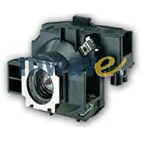 Mwave Lamp for EPSON EMP-755 Projector Replacement with Housing