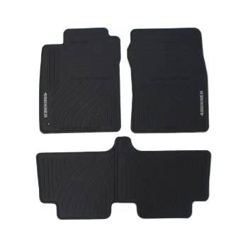 38d5adb8af5 Genuine Toyota Accessories PT908-89090-20 Front and Rear All-Weather Floor  Mat