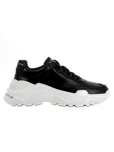Plein Mujer Zapatillas Philipp Negro Wsc1088ple075n02 Cuero dCznC1gR