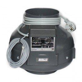 Abzieher Prima Klima 125mm 400m³/h Thermostat + Dimmer