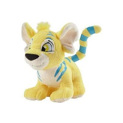 Neopets Plush Series 3 Yellow Kougra with Keyquest Code: Toys & Games