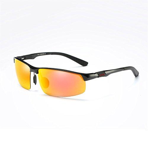 2 Color Sol 12 Gafas para De Gafas Gafas Hombre Gafas Deportivas De Polarizadas YQ Conducir QY HD qwZt4pxw6