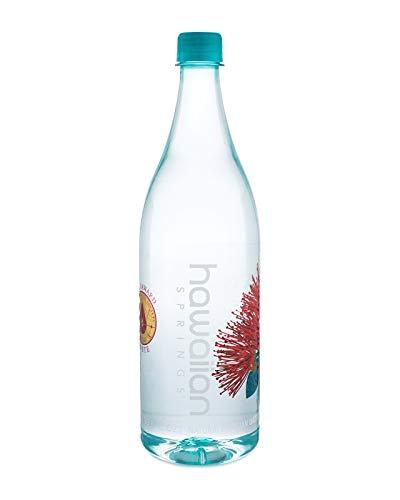 Hawaiian Springs Natural Artesian Water Bottled at the Source in Hawaii (12/1.0L) by Hawaiian Springs