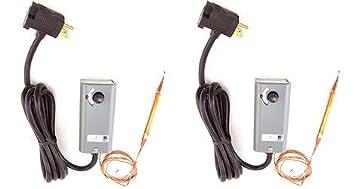 Johnson Controls A19AAT-2C - Controlador de temperatura del ...
